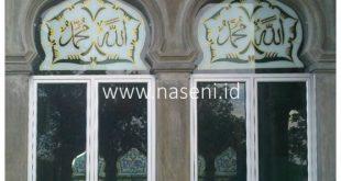 Kaca Painting Untuk Masjid di Banda Aceh