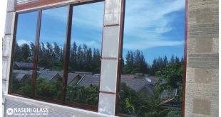 Kusen Aluminium Motif Urat Kayu | Banda Aceh