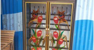 Lemari Piring kaca 2 Pintu | Naseni Glass | Banda Aceh