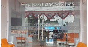 Partisi Kaca tempered 12 mili Banda Aceh