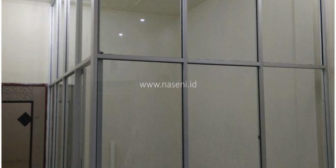 Spesifikasi Dinding Partisi Kaca Frame Aluminium