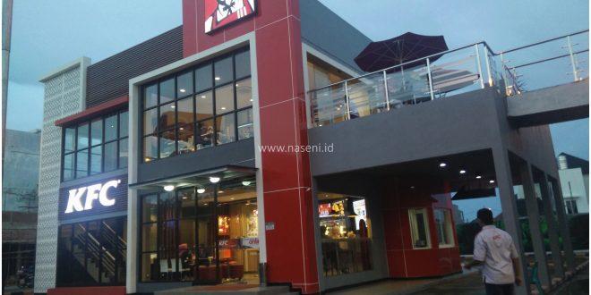 Pemasangan Partisi Kusen Aluminium dan Kaca KFC – Banda Aceh