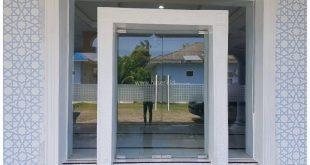 Pintu Kaca Tempered Masjid | Aceh