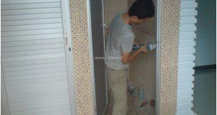 Pintu KAmar Mandi Aluminium, Pintu Toilet Aluminium, Pintu WC Aluminium