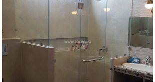 Shower Box Kaca | Kaca Pembatas Kamar Mandi | Kaca Kamar Mandi | Banda Aceh