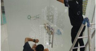 Pemasangan Stiker Kaca | Banda Aceh